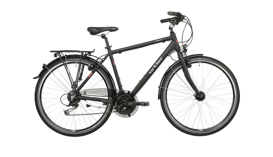 Ortler Saragossa - Vélo de trekking Homme - noir